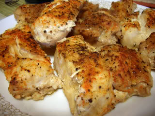 Yogurt chicken, healthy chicken