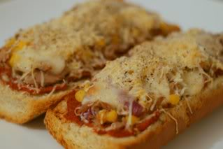 Pizza sandwich, Bread Pizza
