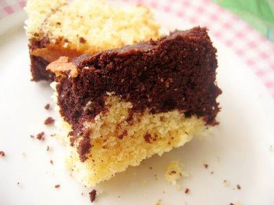 Chocolate flavor Marble Cake