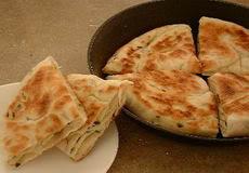Potato and chicken Pancake, sandwich