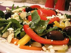 Greek Spinach Salad