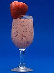 Chocolate and Strawberry Milk Shake