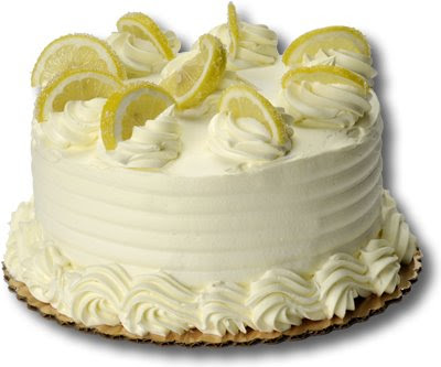 Lemon Cream Cake For Christmas