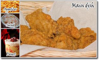 Meal Ideas – Crispy Chicken Meal