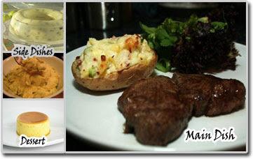 Beef Steak & Salad Meal Idea