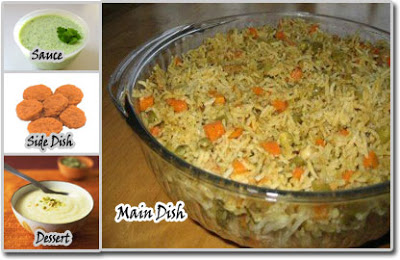 Meal Ideas – Vegetable Rice with Nuggets Meal Idea