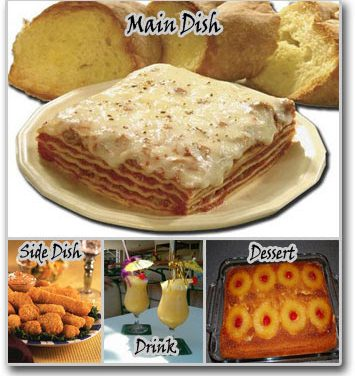 Meal Ideas – Lasagna with Nuggets Meal Idea