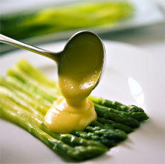 French sauces : Asparagus sauce