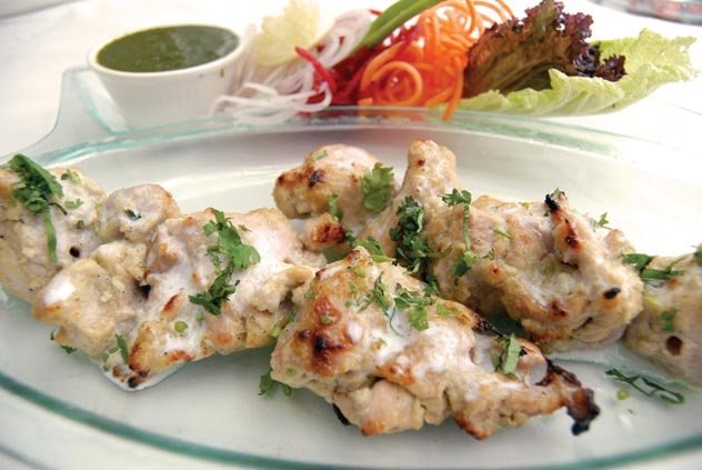 Smoked Chicken Recipe > Chicken Malai Tikka