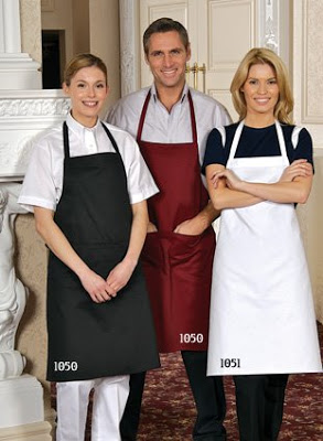 All kinds of cooking aprons for men women and kids