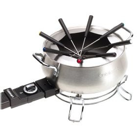 Electric Fondue Set by Cuisinart No : CFO-3SS