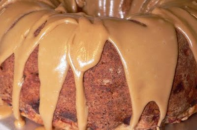 Caramel Apple Cake Recipe