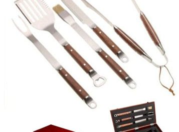 BBQ Tool Set > Stainless Steel Tool Set With Case