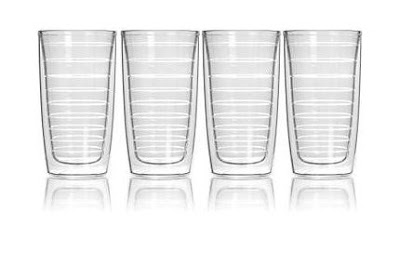 Clear Tumbler > 16 oz Insulated Clear Tumbler Set