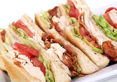 Turkey Sandwich Recipe > Club Sandwich