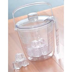 Double Insulated Ice Bucket Set