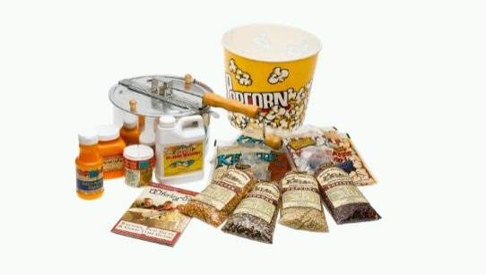 Popcorn Kit – Complete Kit With Popper and Popcorns
