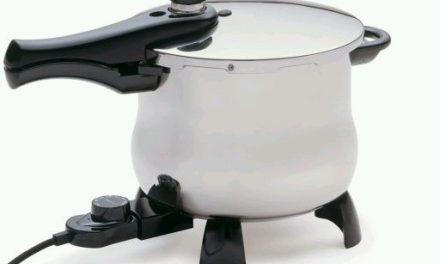 Stainless Steel Electric Pressure Cooker by Presto