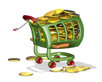 Cheap groceries trolley lowest price in UK