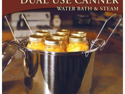 2-in-1 Water Bath Canner and Steam Canner