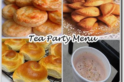 Meal Ideas : Tea Party Menu