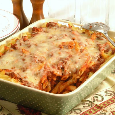 Beef with Penne Pasta