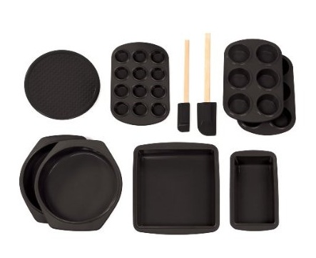 Silicone Bakeware Set – 10 Piece Silicone Baking Set ...