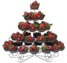 Cupcake Tier Stand – 38 Cupcakes Holder By Wilton