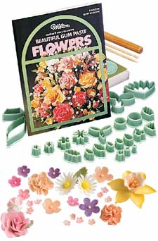 Flower Gumpaste Cutters For Cookies And Cake Decoration