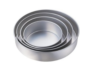 Aluminum baking pans | Round Cake pans set of 4