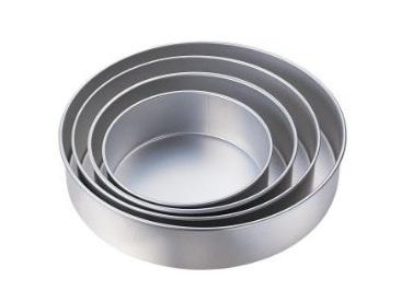 Aluminum Baking Pans Set | Round Cake Pans