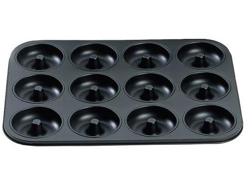 Doughnut Pan – 12 Nonstick Donut Baking Pan