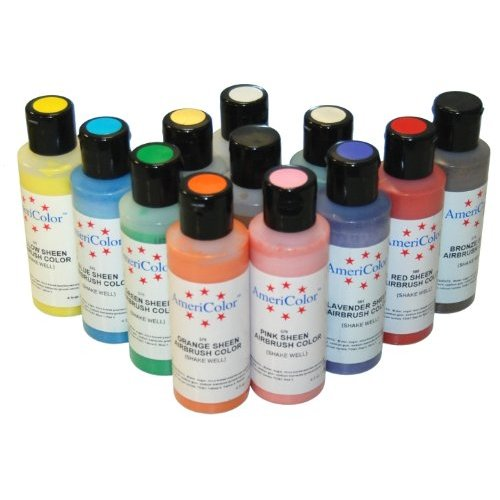 AmeriColor Liquid Food Colors For Icing - RecipeDose.com
