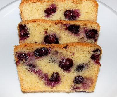 Pressure Cooker Recipe: Blueberry Cake Recipe