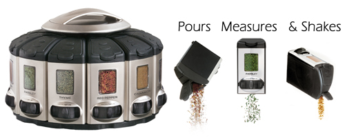 Auto Measure Spice Carousel By KitchenArt