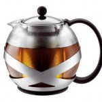 Tea press Pot - Glass Plastic and Stainless Steel