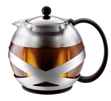 Tea Press Pot by Bodum – 2 to 4 Cup Tea Press