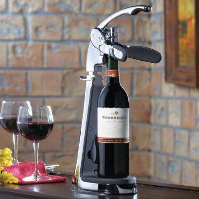 Countertop Wine Opener – Connoisseur's Table Top Wine Bottle Opener