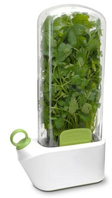 Store Fresh Herbs With Prepara Herb Savor
