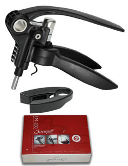 Screwpull Corkscrew Opener set