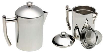 Tea Maker – Stainless Steel Tea Maker with Infuser Basket