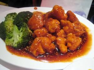 fried garlic chicken
