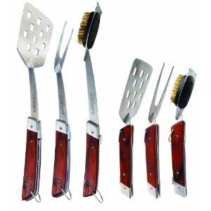Folding BBQ Tool Set – Cuisinart 3-Piece BBQ Tool Set
