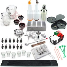 Home Bar Tool Set – Home Bar Accessories Complete Kit