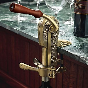 Legacy Corkscrew – Antique Corkscrew With Grape Adornments