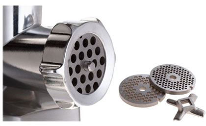 Professional Meat Grinder - Blades and Attachments