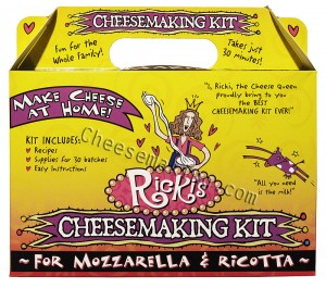 Best Cheese Making Kit – 30 Minute Cheese Kit