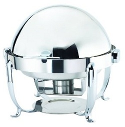 Browne Halco Octave Round Stainless Chafer