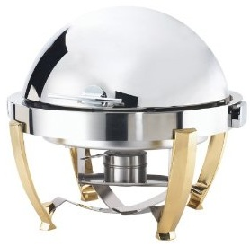 Browne Halco Round Roll Top Chafing-Dish