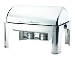 Browne Halco Stainless Steel Chafer Harmony rectangular